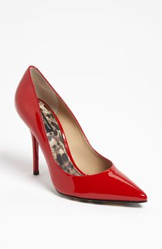 I have red patent pumps like these that I love...they are BCBG and cost $39.99 on clearance a few years ago...those are my kind of deals! :)  Dolce Patent Pump available at #Nordstrom