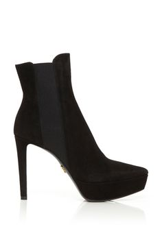 PRADA Nero Ankle Boot