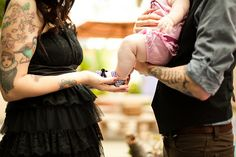 Tattooed Couples with Babies | tattoos, baby, couple, cute - image #619024 on Favim.com