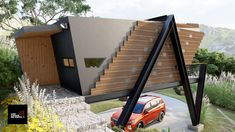 Thai House, Types Of Houses, Glamping, Pablo Escobar, Container Houses, House Design, Cabin, Small Houses, Lofts