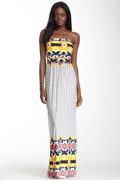 Fantastic Fawn Strapless Maxi Dress.....perfect for vacation