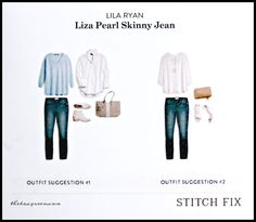 LILA RYAN Liza Pearl Skinny Jean I would LOVE to get these!