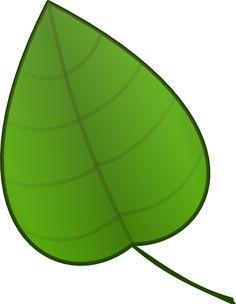 Banana leaf pattern. Use the printable outline for crafts ...