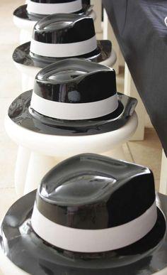 Secret Agent Party Hats