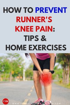 By figuring out what caused your runner's knee in the first place, addressing those issues and then cultivating a patient, methodical return to running, you can put it behind you and never look back.You can apply home exercises and simple remedies that will stop the pain.Check these great tips for prevent it👍Knee pain relief remedies, stretch for knee pain,exercises for knee pain,back of knee pain,running tips,running for beginners