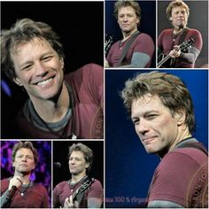 Keep smiling Jon, thousands of people carry your smile in their hearts x Jon Bon Jovi, Bon Jovi Live, Bon Jovi Pictures, Emilio Estevez, Shaggy Long Hair, Great Smiles, Dream Guy, No One Loves Me, Cool Bands