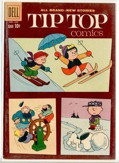 Dell File Copy Tip Top Comics 223 Nov 1960 Jan 1961 Dell NM Mint Peanuts   eBay