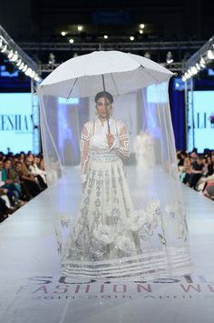 Ali Xeeshan Collection at PFDC Sunsilk Fashion Week Pakistani couture Ali Xeeshan, Pakistani Couture, Asian Bridal, Desi Clothes, Bridal Outfits, Indian Outfits, Bridal Style, Wedding Inspiration, Wedding Dresses