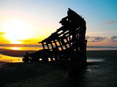 @Peter Iredale ship wreck - Oregon coast