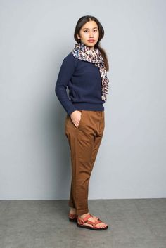 Kitchener items Claire Pearl Stitch Pullover (Marine) - Pullover - Ladies