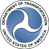 Triskelion // The seal of the US Department of Transportation.