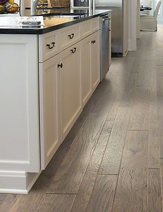 """Anderson Palo Duro Mixed Width Nickel, 3/8"""", 3,5,6.8"""", Hickory, made in USA  AA777-15003 Hardwood Floors"""