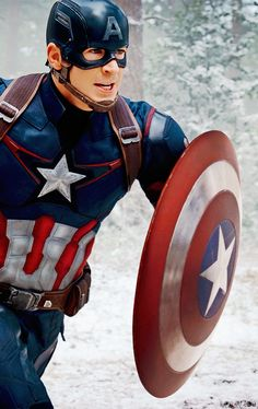 Captain in the Avengers Age Of Ultron!