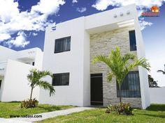 #conjuntoshabitacionales LAS MEJORES CASAS DE MÉXICO. Nuestro prototipo de vivienda Mérida Plus, cuenta con 160 m2 de terreno por 140.73 m2 de construcción, sala a doble altura, comedor, cocina, desayunador de granito, 3 recámaras, 3 baños, protectores, mosquiteros y patio de servicio. En Grupo Sadasi, le invitamos a visitar nuestros desarrollos en Yucatán, para adquirir su nuevo hogar. jperez@sadasi.com