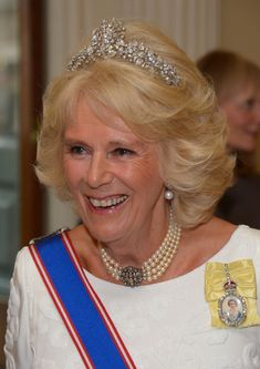 Camilla Parker Bowles Photos - The Duchess of Cornwall Attends the Royal Academy of Arts Annual Dinner - Zimbio