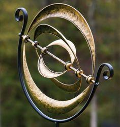 New Yard Wind Spinner Garden Decor Windmilll Outdoor Kinetic Metal Art Sculpture #EvergreenEnterprises