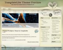 Note Paper WordPress Theme