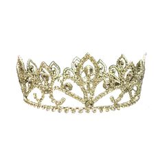 crown.png ❤ liked on Polyvore featuring crowns, tiaras, accessories, jewelry and hair accessories