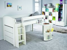 Stompa Uno S 9 Mid Sleeper Set | Kids Beds From FADS