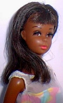 """1967-1968 """"Francie,"""" the first African-American doll in the Barbie line. Protect this pretty piece of Barbie history by visiting http://www.americancollectors.com/Collectible/17/ Follow #Professionalimage"""