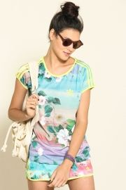 t-shirt floralina