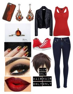 """Ninjago Kia outfit"" by fandombeforeblood ❤ liked on Polyvore featuring Balenciaga, rag & bone, Converse, women's clothing, women's fashion, women, female, woman, misses and juniors"