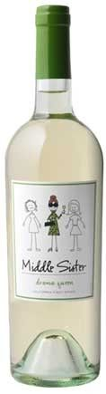 """Middle Sister wine..""""there's a bit of middle sister in all of us"""" jaderowland"""