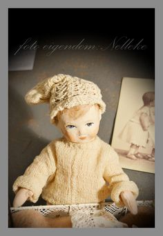 antique little boy doll