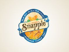 snapple re-design