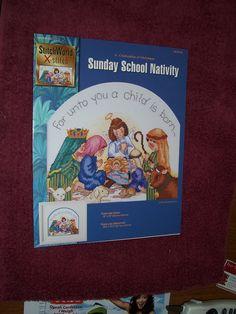 Amazon.com: Sunday School Nativity Counted Cross Stitch Chart: Everything Else