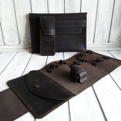 Кожаные аксессуары ручной работы. На фот Cable Cover, Bags, Handbags, Bag, Totes, Hand Bags
