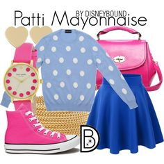 Patti Mayonaise by leslieakay on Polyvore featuring Slater Zorn, Converse and Kate Spade