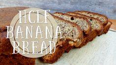 Today I'm going to show you how easy it is to bake HCLF vegan banana bread! Vegan banana bread is soo yummy! Vegan Banana Bread, Banana Bread Recipes, Vegan Recipes, Easy, Desserts, Food, Tailgate Desserts, Deserts, Vegane Rezepte