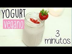 YOGURT VEGANO EN 3 MINUTOS ♥ - Cris - YouTube