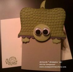 Guest Artist- Olivia Carpenter - Stamp with Michele  Turtle Card from the top note die