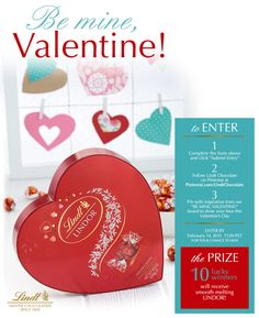 Valentine's Day is the perfect time to make someone melt with Lindt Chocolate!  Enter to win smooth melting LINDOR at http://bit.ly/lindtvalentine #LINDORmelt #Contest (Link in profile)