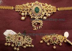 Choker cum Armband 25 to 50 grams - Jewellery Designs