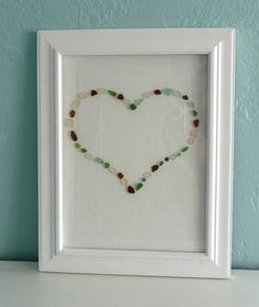 I've always wanted ideas for what to do with all my beach glass...