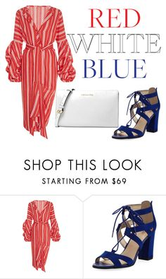 """July 4th: Fireworks & Romance"" by ghadalog ❤ liked on Polyvore featuring Johanna Ortiz, Circus by Sam Edelman, Michael Kors and fourthofjuly"