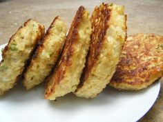 Quinoa Cakes - yum - her site has lots of other quinoa recipes too