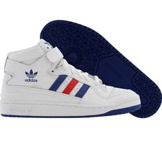 newest collection f16fc 2eec1 Adidas Forum Mid (white   college royal   college red) G50932 -  84.99 Paul