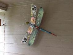 Ceiling Fan Blades Dragonflies