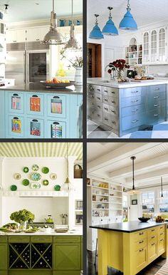 Not sure I could do it but I want to paint my island and pantry door with a pop of color