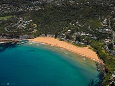 Beautiful Bilgola Beach on Sydney's Northern Beaches #northernbeaches #sydney #aerialphotography #bilgola www.joelcoleman.com