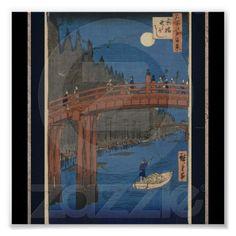 Poster-Vintage Japanese Art-Ando Hiroshige 8