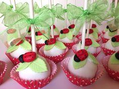 Cakepops de Ladybug