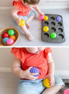 Baby Play at 12 Months – Little Lifelong Learners v Baby Play at 12 Months – Little Lifelong Learners,Mommy mentor Easy play ideas for 12 month old babies! Find simple baby play ideas for. Activities For 1 Year Olds, Gross Motor Activities, Toddler Learning Activities, Baby Learning, Infant Activities, Sensory Activities, Baby Room Activities, Baby Activites, Sensory Rooms