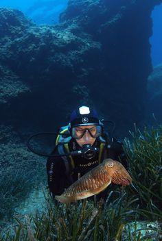 #Hipnotizada bajo el mar  - Fotografía de Antonio Cirer