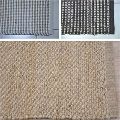 Product Name: Jute Chindi Rib Stock Offer#             : 1674 Size                  :120X180CM,60X90CM Quality            : COTTON/JUTE/POLY And JUTE Color               : NATURAL Quantity         :  1060 pcs  http://www.textilestock.in/productdetail/2780/Carpets%20%20Rugs-Jute-Chindi-Rib-Stock.html