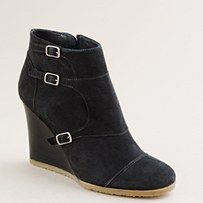 love love love these! #jcrew booties would love more with a stone colored sock peeing out with black leggins or skinny jeans